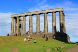 SCOTLAND, Edinburgh, Calton Hill, National Monument, SCO852JPL