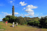 SCOTLAND, Edinburgh, Calton Hill, Nelson Monument, SCO835JPL