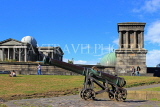 SCOTLAND, Edinburgh, Calton Hill, Observatory, Cannon & Playfair Monument, SCO863JPL