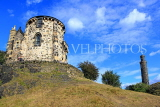 SCOTLAND, Edinburgh, Calton Hill, Old Observatory House, SCO860JPL