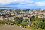 SCOTLAND, Edinburgh, Calton Hill, view towards Leith and Firth of Forth, SCO871JPL