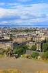 SCOTLAND, Edinburgh, Calton Hill, view towards Leith and Firth of Forth, SCO872JPL