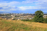 SCOTLAND, Edinburgh, Calton Hill, view towards Leith and Firth of Forth, SCO873JPL