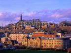 SCOTLAND, Edinburgh, Calton Hill view from Holyrood Park, SCO795JPL