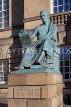 SCOTLAND, Edinburgh, David Hume statue, High Street, SCO1079PL