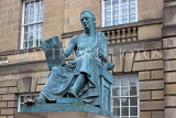 SCOTLAND, Edinburgh, David Hume statue, High Street, SCO984PL