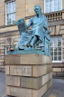 SCOTLAND, Edinburgh, David Hume statue, High Street, SCO985PL