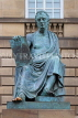 SCOTLAND, Edinburgh, David Hume statue, High Street, SCO986PL