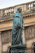 SCOTLAND, Edinburgh, Duke of Buccleuch memorial statue, High Street, SCO1015JPL