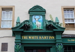 SCOTLAND, Edinburgh, Grassmarket, The White Hart Inn pub, entrance facade, SCO1012JPL