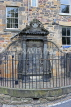 SCOTLAND, Edinburgh, Greyfriars Kirk, burial grounds, John Mylne monument, SCO980PL