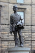 SCOTLAND, Edinburgh, High Street, James Braidwood statue, SCO947JPL