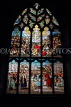 SCOTLAND, Edinburgh, St Giles Cathedral, stained glass window, SCO899JPL