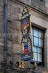 SCOTLAND, Edinburgh, The Royal Mile by the Castle, The Witchery Restaurant sign, SCO1055JPL