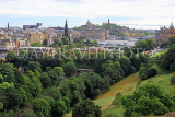 SCOTLAND, Edinburgh, city view from Edinburgh Castle, SCO1117JPL