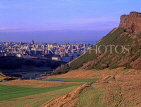SCOTLAND, Edinburgh, city view from Holyrood Park, SCO798JPL