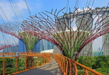 SINGAPORE, Gardens by the Bay, Supertree Grove,  Skyway, SIN452JPL