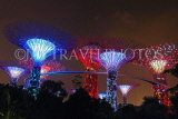 SINGAPORE, Gardens by the Bay, Supertree Grove, illuminations, SIN483JPL