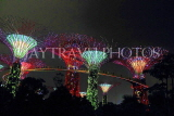 SINGAPORE, Gardens by the Bay, Supertree Grove, illuminations, SIN490JPL