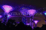 SINGAPORE, Gardens by the Bay, Supertree Grove, illuminations, SIN495JPL