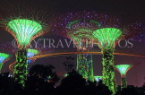 SINGAPORE, Gardens by the Bay, Supertree Grove, illuminations, SIN497JPL