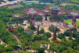 SINGAPORE, Gardens by the Bay, view from Marina Bay Sands SkyPark, SIN1265JPL