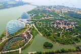 SINGAPORE, Gardens by the Bay, view from Marina Bay Sands SkyPark, SIN1266JPL