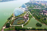 SINGAPORE, Gardens by the Bay, view from Marina Bay Sands SkyPark, SIN1267JPL
