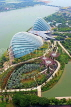 SINGAPORE, Gardens by the Bay, view from Marina Bay Sands SkyPark, SIN1268JPL