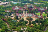 SINGAPORE, Gardens by the Bay, view from Marina Bay Sands SkyPark, SIN1269JPL