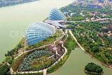 SINGAPORE, Gardens by the Bay, view from Marina Bay Sands SkyPark, SIN1270JPL