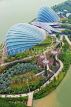 SINGAPORE, Gardens by the Bay, view from Marina Bay Sands SkyPark, SIN1271JPL