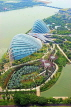 SINGAPORE, Gardens by the Bay, view from Marina Bay Sands SkyPark, SIN1272JPL