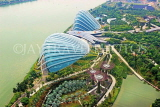 SINGAPORE, Gardens by the Bay, view from Marina Bay Sands SkyPark, SIN1273JPL
