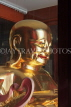 SINGAPORE, Little India, Leong San See Temple, interior, golden Buddha statue, SIN659JPL