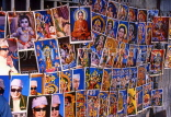 SINGAPORE, Little India, shops, religious posters for sale, SIN120JPL
