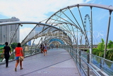 SINGAPORE, Marina Bay, Helix Bridge, SIN1132JPL