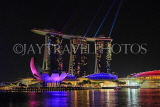 SINGAPORE, Marina Bay, Marina Bay Sands, light and water show, SIN1141JPL