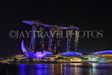 SINGAPORE, Marina Bay, Marina Bay Sands, light and water show, SIN1142JPL