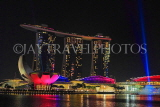 SINGAPORE, Marina Bay, Marina Bay Sands, light and water show, SIN1143JPL
