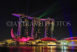 SINGAPORE, Marina Bay, Marina Bay Sands, light and water show, SIN1144JPL