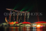 SINGAPORE, Marina Bay, Marina Bay Sands, light and water show, SIN1145JPL