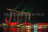 SINGAPORE, Marina Bay, Marina Bay Sands, light and water show, SIN1146JPL