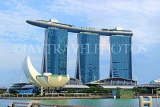SINGAPORE, Marina Bay, Marina Bay Sands Hotel and ArtScience Museum, SIN1134JPL