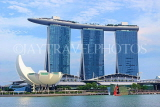 SINGAPORE, Marina Bay, Marina Bay Sands Hotel and ArtScience Museum, SIN1135JPL