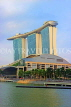 SINGAPORE, Marina Bay, and Marina Bay Sands Hotel, SIN1123JPL