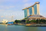 SINGAPORE, Marina Bay, and Marina Bay Sands Hotel, SIN1124JPL