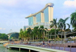 SINGAPORE, Marina Bay, and Marina Bay Sands Hotel, SIN1125JPL