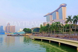 SINGAPORE, Marina Bay, and Marina Bay Sands Hotel, SIN1250JPL