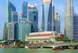 SINGAPORE, Marina Bay, and Singapore skyline, SIN1214PL